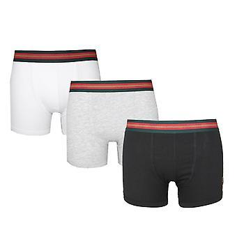 Luke 1977 Multi 3 Pack Boxer Shorts