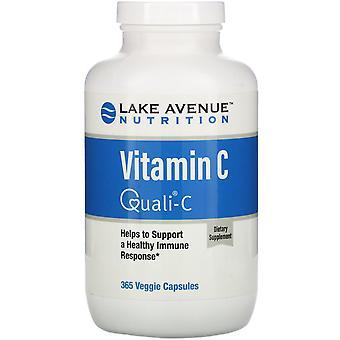 Lake Avenue Nutrition, Vitamin C, Quali-C, 1,000 mg, 365 Veggie Capsules