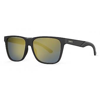 Sonnenbrille Unisex Lowdown Steel XL  polarisiert matt schwarz/gold