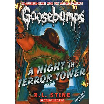 A Night in Terror Tower Classic Goosebumps 12 by Stine & R.L.