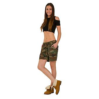 Army Style Camouflage Shorts