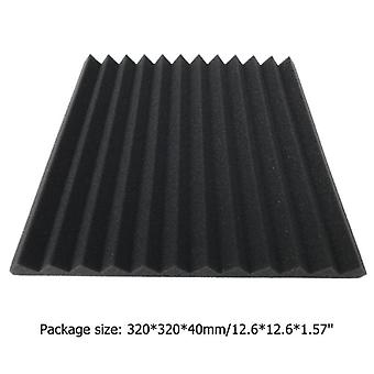 6/12pcs Sound Absorption Elasticity Sponge -noise Reduction, Wall Acoustic Foam