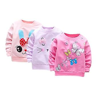 Baby Girl T Shirt Long Sleeve Tops Cotton Casual Spring T-shirt Infant Tees
