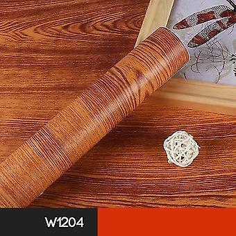 ماء الخشب الفينيل خلفية Diy خزانة خزانة باب الأثاث ملصق