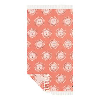 Slowtide Sunny Beach Towel - Red