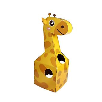 Children's Carton Toy- Paper Animal Can Wear Diy To Make Animal Carton Parent Child Interaction Enhance Relationship Toys
