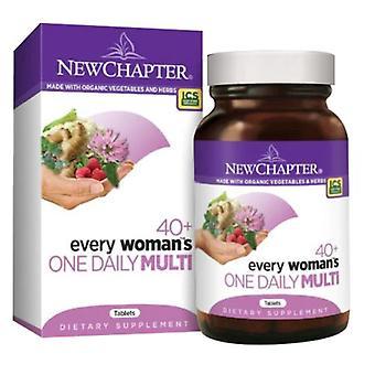 Nouveau chapitre Chaque femme-apos;s One Daily 40 Plus Multi, 96 Onglets