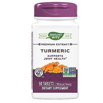 Nature's Way Turmeric Standardized Extract, 60 Tabs