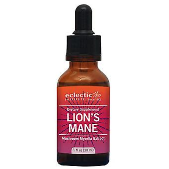 Eclectic Institute Inc Lion'S Mane, 1 Oz with Alcohol