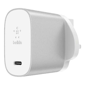Belkin Boost Charge 27 W USB-C Home Charger - Fast Charge for iPhone (UK 3 Pin)