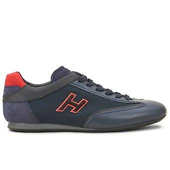 Hogan Olympia Blå og Røde Mænds Sneaker