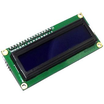 16x2 Blue LCD with I2C Interface Module