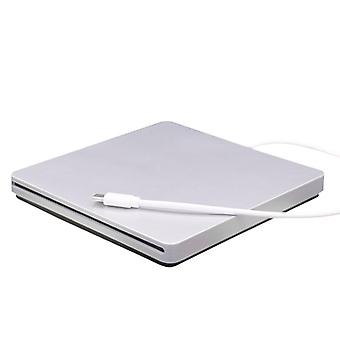 External CD and DVD player optical drive - Silver