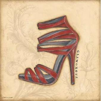 Glamorous Red Heel Poster Print by Stephanie Marrott