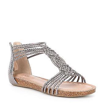Adam Tucker Womens cali5 Fabric Open Toe Casual Strappy Sandals