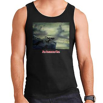An American Tail Cats Chasing Men's Vest