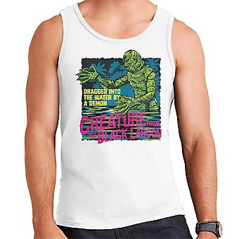 The Creature From The Black Lagoon Dragged Demon Men's Vest