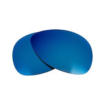 オークリー原告サングラスアンチスクラッチブルーミラー用交換レンズ