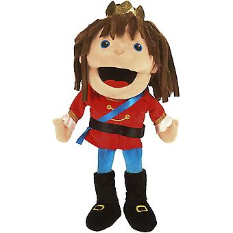 Fiesta Crafts Prince Hand Puppet with Moving Mouth