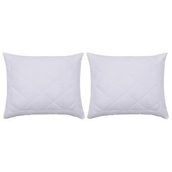 Pillow covers 2 pcs. 60×70 cm White