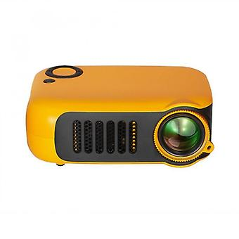 Mini Portable Lcd, Lamp Life Home Theater Video Projectors, Support Power Bank