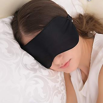 Jeflex natural silk sleep mask blindfold, super-smooth eye mask