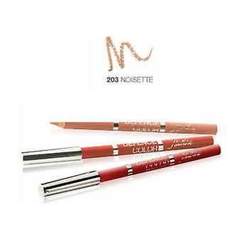 Defense Color Lip Design 203 Hazelnut 1 unit