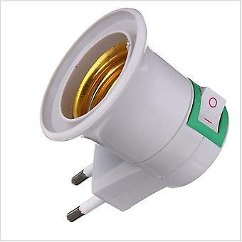 High-quality E27 Lamp Base Eu Plug Lamp Holder