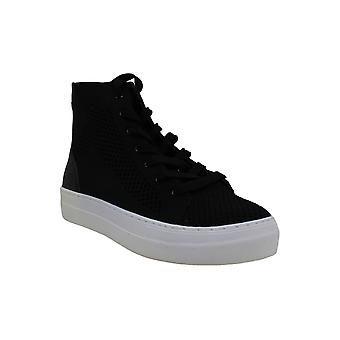Madden Girl Womens Boss Fabric Hight Top Lace Up Fashion Sneakers