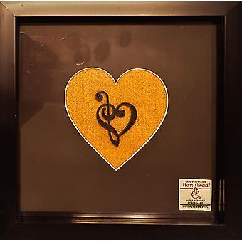 Mustard Yellow Harris Tweed by Laura Ann Cards