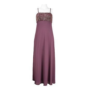Chiffon jurk met glinsterende gebreide bolero jas
