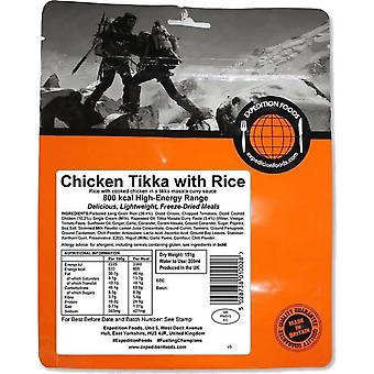 Expedition Foods Chicken Tikka with Rice - 800kcal