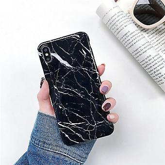 Marble Case On For Coque, Silicone Soft Tpu Back Cover