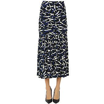 Missoni Ezgl113030 Women's Multicolor Cotton Skirt