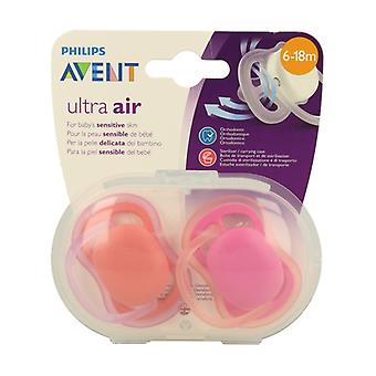 Ultra Air SCF245 / 22 pacifiers 6-18 months 2 units
