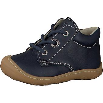 RICOSTA Laced Small Boot Navy Blue