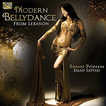 Emad Sayyah - moderne Bellydance uit Libanon-zonsondergang prinses [CD] USA import