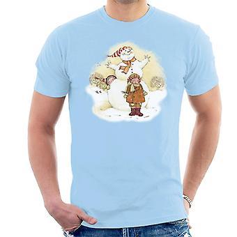 Holly Hobbie Joulu Lumiukko Miehet'T-paita