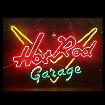 Garage Glass Neon Light Sign Beer Bar