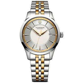 Victorinox Swiss Army 241803 Alliance Gold And Silver Steel Men's Watch