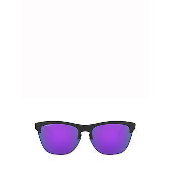 Oakley OO9374 matte black unisex sunglasses