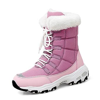 Women's Ankle High Snow Boots 2110 Rose