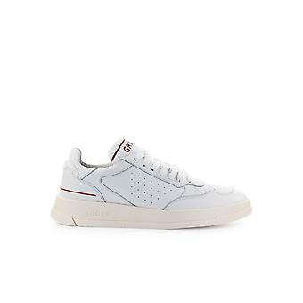 GHOUD WHITE LEATHER TERRY SNEAKER