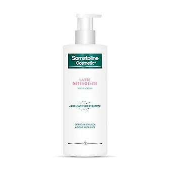Face and Eye Cleansing Milk with Hydrolyzed Hyaluronic Acid 400 ml