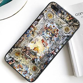 iPhone 12 shell antique motif painting oil painting