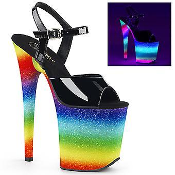 בבקשה נשים&נעליים פלמינגו-809WR בלק פט / קשת נצנצים