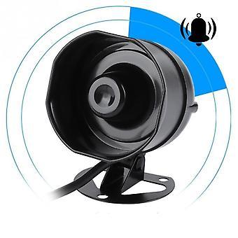 Klaxon de son électrique, haut-parleur fort pour sirène d'alarme de camion, lecture de mp3 de support et