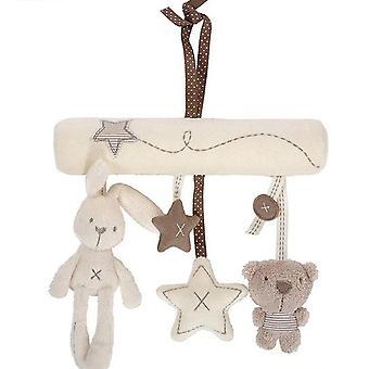 Cute Rabbit Bear Bell Toy (01)
