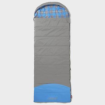 New Coleman Camping Basalt Sleeping Bag Grey/Blue