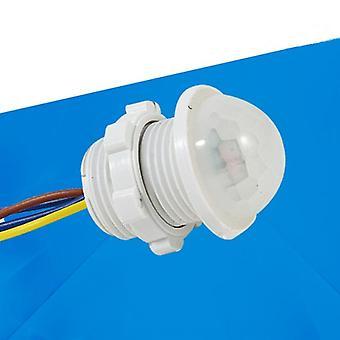 Sensor de luz infravermelha branca ajustável de 40 mm